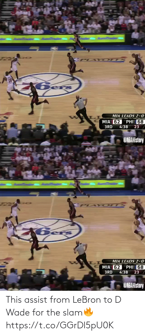 slam: This assist from LeBron to D Wade for the slam🔥 https://t.co/GGrDI5pU0K