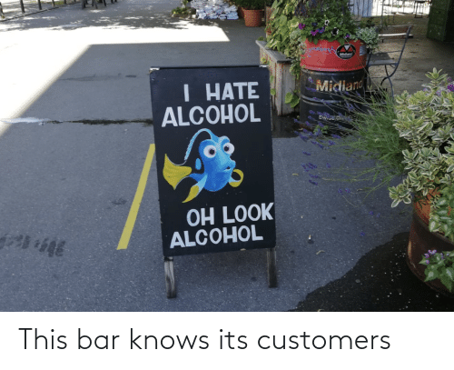 Knows: This bar knows its customers