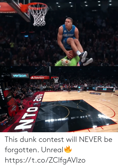 Dunk: This dunk contest will NEVER be forgotten. Unreal🔥 https://t.co/ZClfgAVIzo