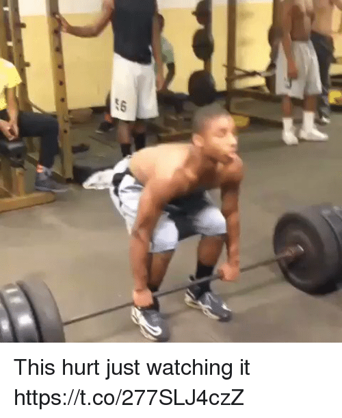 Hurted: This hurt just watching it  https://t.co/277SLJ4czZ
