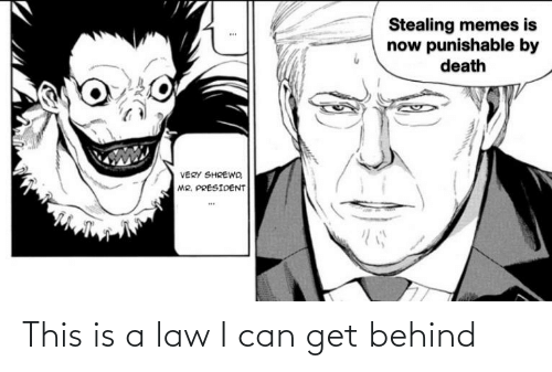Can Get: This is a law I can get behind