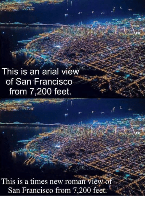 Bailey Jay, Dank, and San Francisco: This is an arial view  of San Francis  from 7,200 feet.  This is a times new roman view o  San Francisco from 7,200 feet