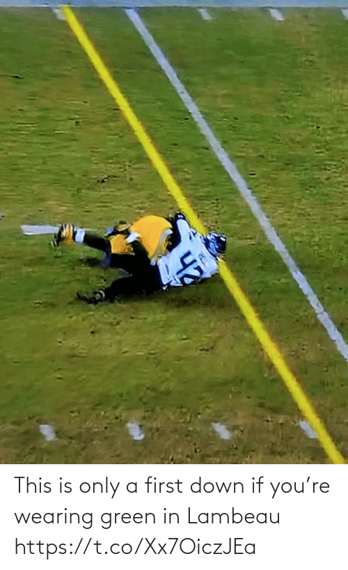 green: This is only a first down if you're wearing green in Lambeau https://t.co/Xx7OiczJEa