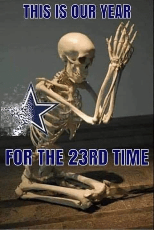 Nfl, Time, and For: THIS IS OUR YEAR  FOR THE 23RD TIME