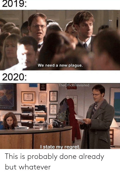 The Office: This is probably done already but whatever