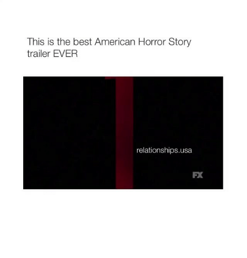 Americanness: This is the best American Horror Story  trailer EVER  relationships usa  FX