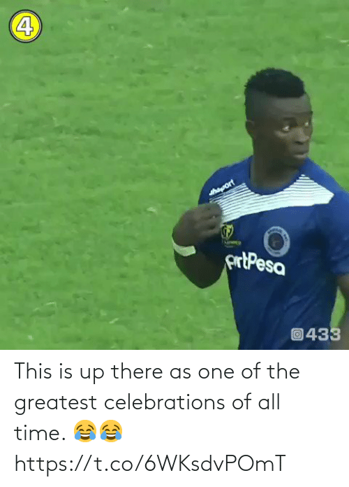 All Time: This is up there as one of the greatest celebrations of all time. 😂😂 https://t.co/6WKsdvPOmT