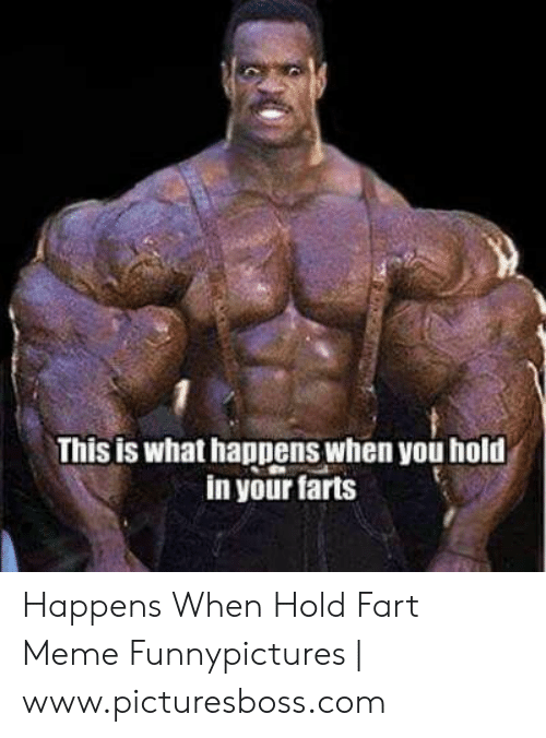 Hold Fart: This is what happens when you hold  in your farts Happens When Hold Fart Meme Funnypictures | www.picturesboss.com