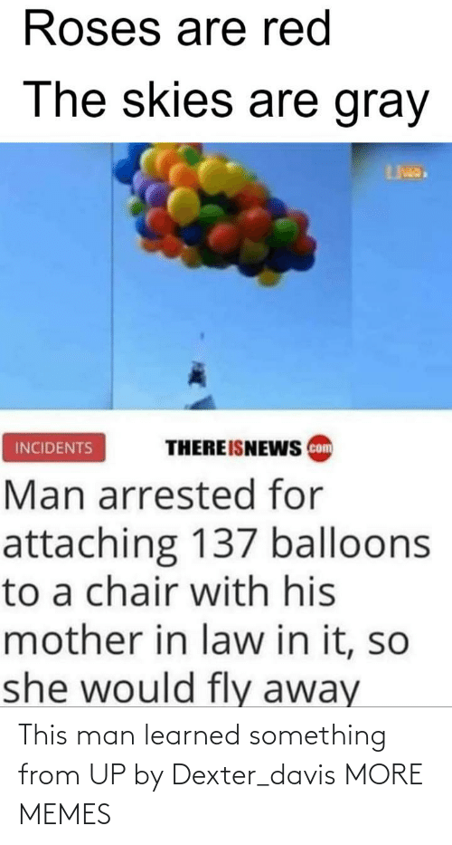 davis: This man learned something from UP by Dexter_davis MORE MEMES