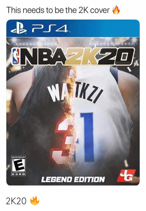 Nba, Ted, and Content: This needs to be the 2K cover  TED BY JOSEGF  N  NBAK20  OSEGIESIGN  BUDSSRRESIEN  CONTENT RATEDeY  ESRB  LEGEND EDITION 2K20 🔥