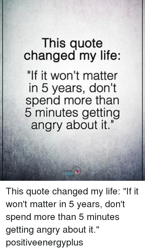 This Quote Changed My Life If It Wont Matter In 5 Years Dont Spend