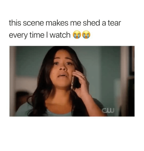Time, Watch, and Girl Memes: this scene makes me shed a tear  every time l watch