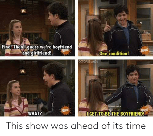 it's time: This show was ahead of its time