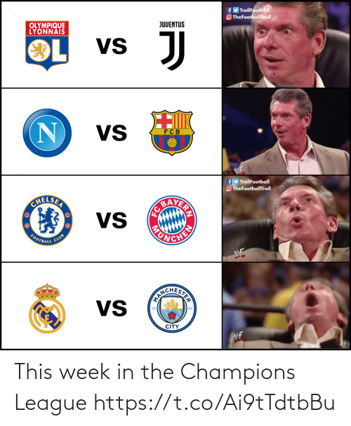 Champions League: This week in the Champions League https://t.co/Ai9tTdtbBu