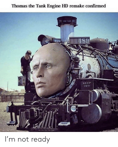 Remake: Thomas the Tank Engine HD remake confirmed  AS9  КЕЕР  EE  OFF I'm not ready