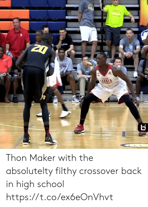 Memes, School, and Back: Thon Maker with the absolutelty filthy crossover back in high school https://t.co/ex6eOnVhvt