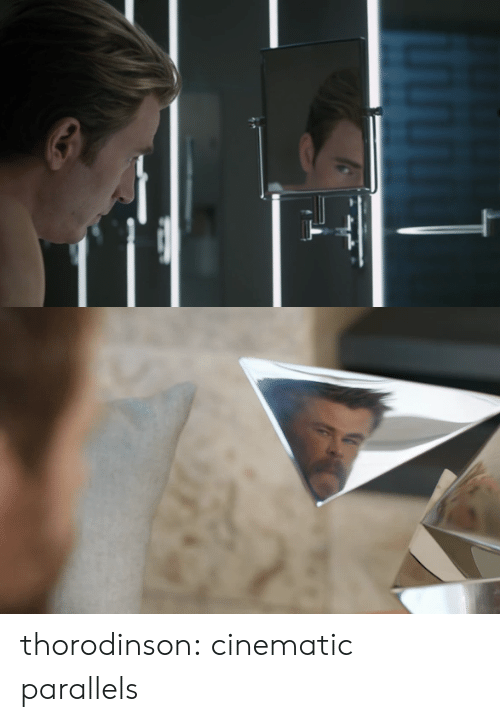 Tumblr, Blog, and Http: thorodinson:  cinematic parallels
