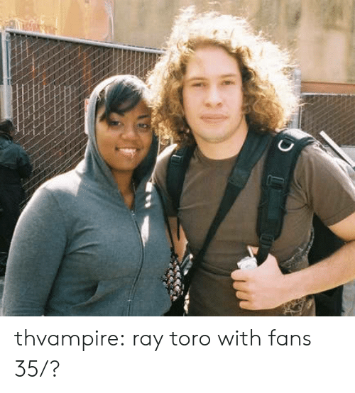 Tumblr, Blog, and Http: thvampire:  ray toro with fans 35/?