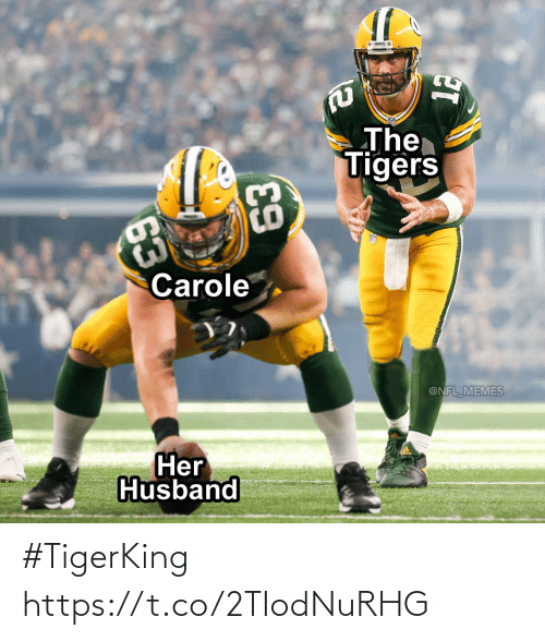 Football, Nfl, and Sports: #TigerKing https://t.co/2TIodNuRHG
