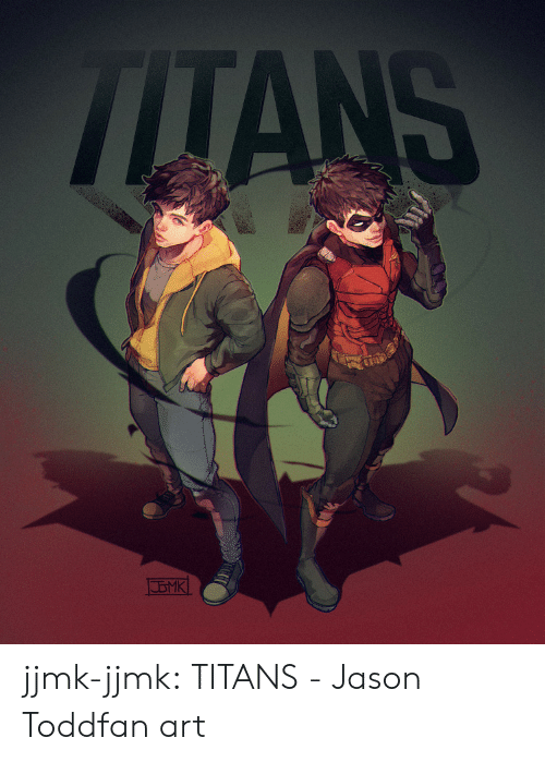fan art: TLTANS jjmk-jjmk:  TITANS - Jason Toddfan art