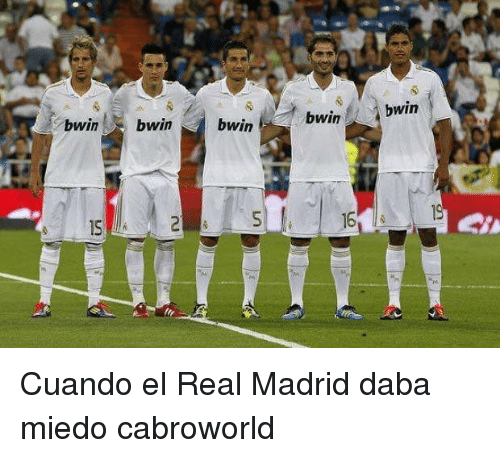 Real Madrid, Madrid, and Real: to  bwinbwinbwinbwin  bwin  1S  16 Cuando el Real Madrid daba miedo cabroworld