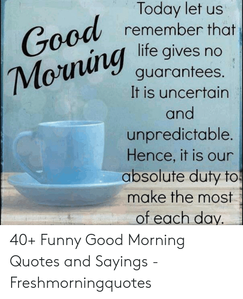 🅱️ 25+ Best Memes About Funny Good Morning Quotes | Funny