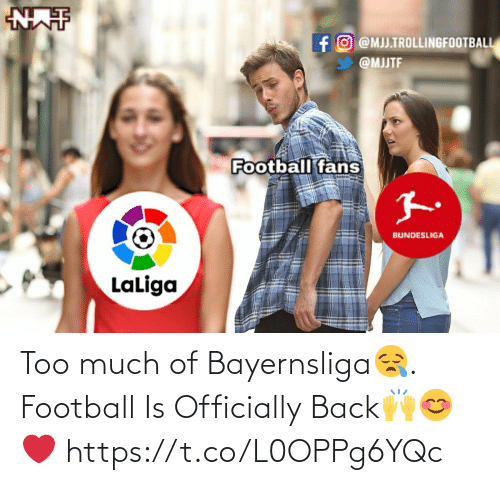 Football: Too much of Bayernsliga😪. Football Is Officially Back🙌😊❤️ https://t.co/L0OPPg6YQc