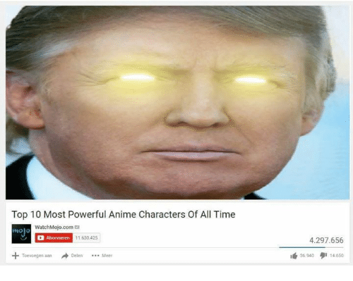 Animals, Anime, and Animal: Top 10 Most Powerful Anime Characters Of All Time  WatchMojo.com  Abonneren  11.630425  Toevoegen aan  4.297.656  35.940 14.650