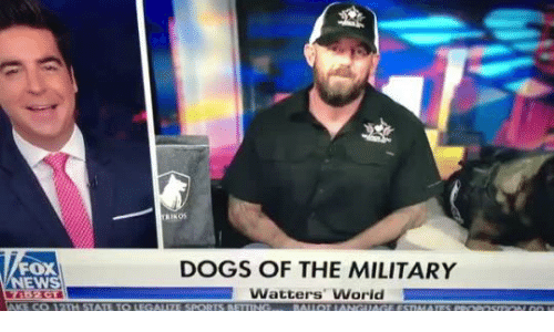 Military: TRIKOS  FOX  DOGS OF THE MILITARY  Watters World  NEWS  7452 GT  AKE CO 12TH STATE TO LEGALIZE SPORTS BETTING.  BALLOT IANGUAGE ESTIMATTES PROPOSMON OO M