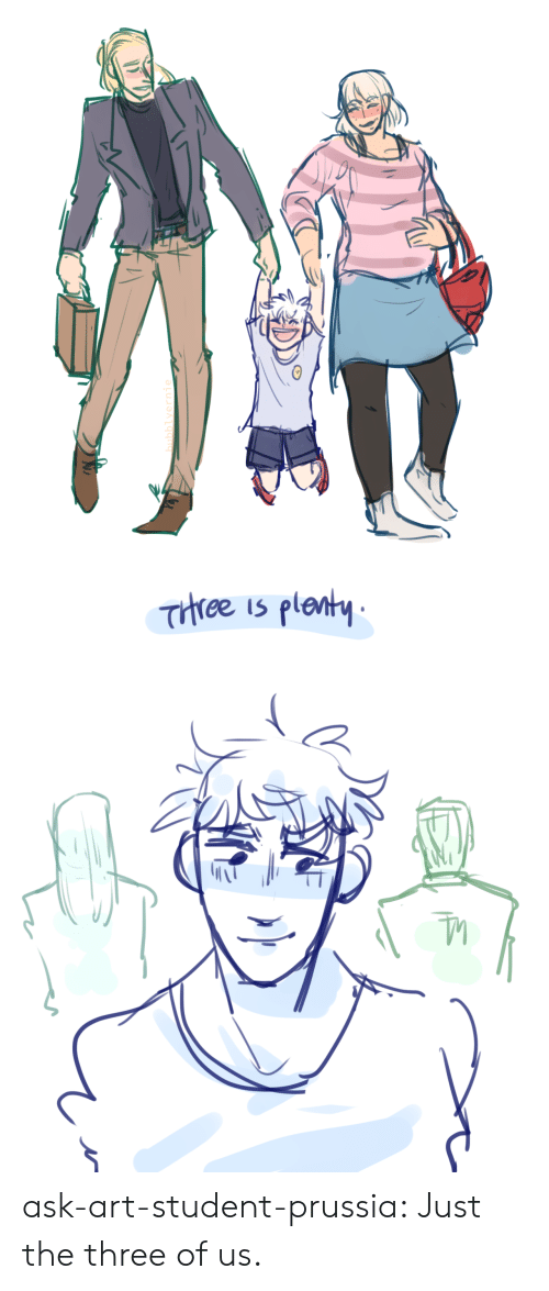 Prussia: Trree is plenty ask-art-student-prussia:  Just the three of us.