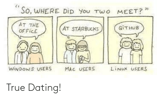 Dating: True Dating!