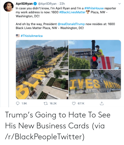 R Blackpeopletwitter: Trump's Going to Hate To See His New Business Cards (via /r/BlackPeopleTwitter)