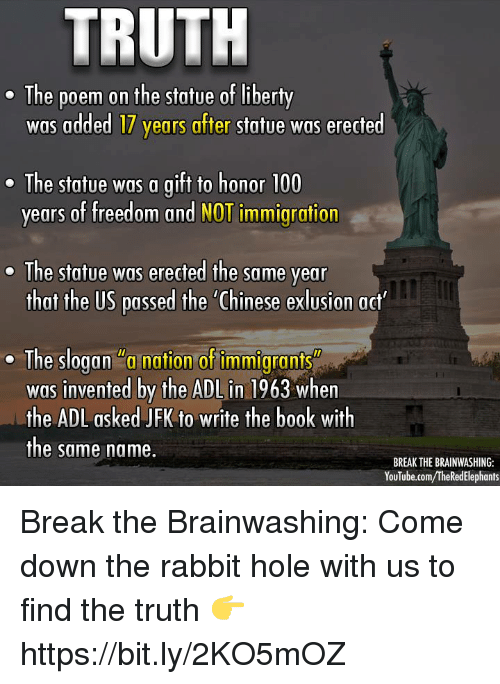 Truth E The Poem On The Statue Of Liberty Was Added 17 Years