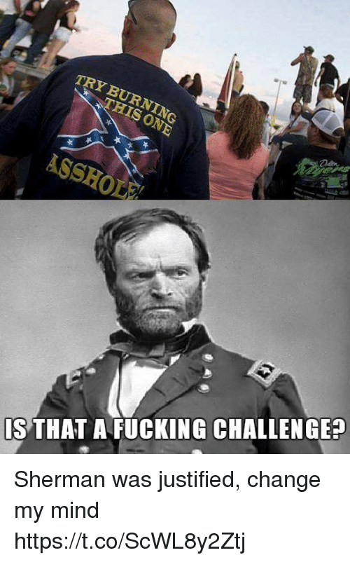 Sherman: TRY BURNING  IS THAT A FUCKING CHALLENGE? Sherman was justified, change my mind https://t.co/ScWL8y2Ztj