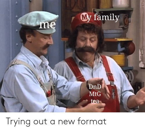 new: Trying out a new format