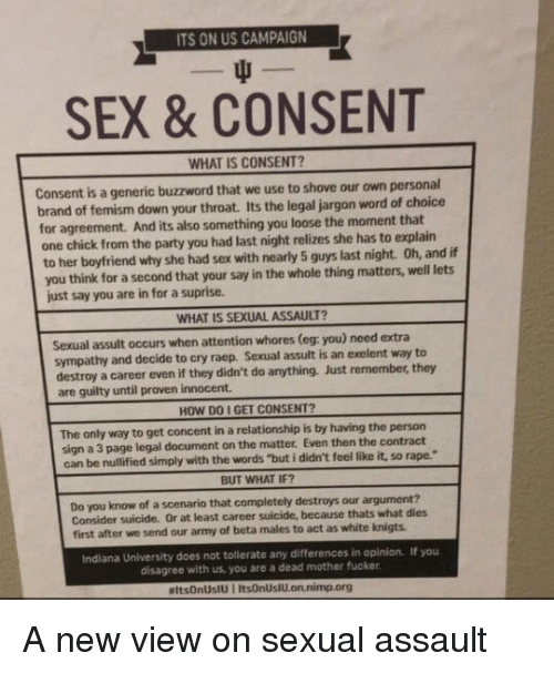 what is free consent Consent occurs when one person voluntarily agrees to the proposal or desires of another it is a term of common speech, but may have more specific definitions in such fields as the law, medicine, research, and sexual relationships types of consent include implied consent, expressed consent, informed consent and unanimous consent consent as understood in specific contexts may differ from its everyday meaning.