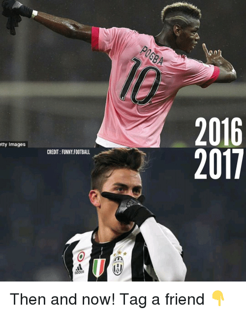 funny football: tty Images  CREDIT FUNNY FOOTBALL  oddos  2016  2011 Then and now! Tag a friend 👇