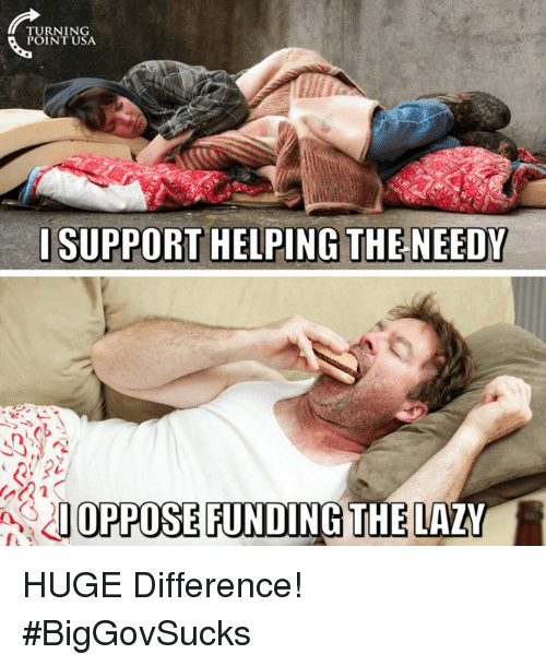 Memes, 🤖, and Usa: TURNING  POINT USA  AOPPOSE FUNDING  THE LAY HUGE Difference! #BigGovSucks