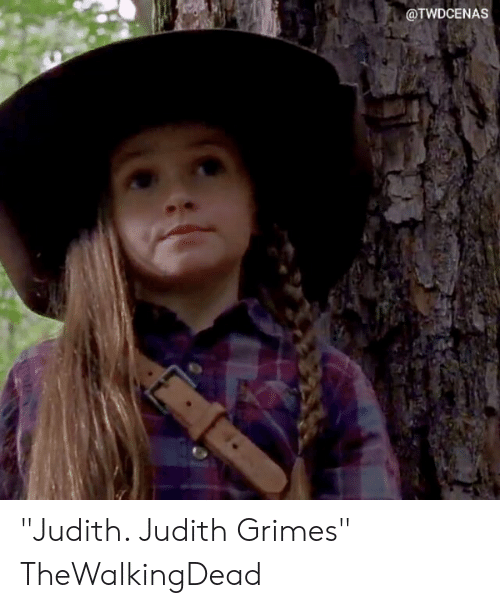 "thewalkingdead: @TWDCENAS ""Judith. Judith Grimes"" TheWalkingDead"