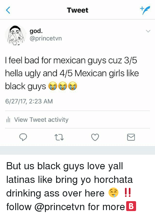 I like mexican guys