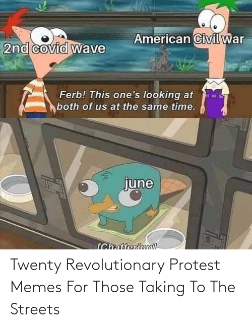 Protest: Twenty Revolutionary Protest Memes For Those Taking To The Streets