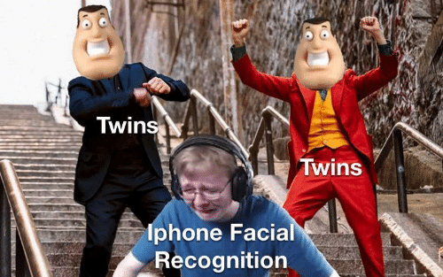 Facial: Twins  Twins  lphone Facial  Recognition