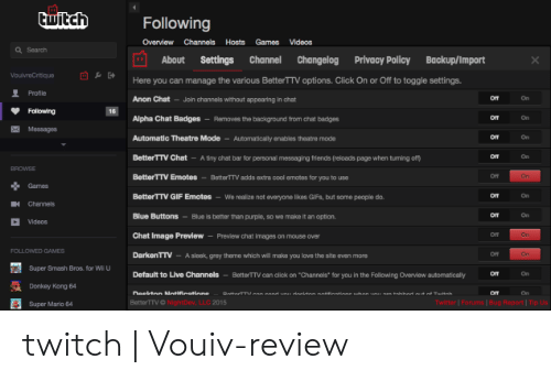 Bttv Not Working
