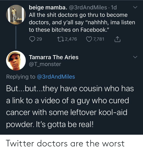 doctors: Twitter doctors are the worst
