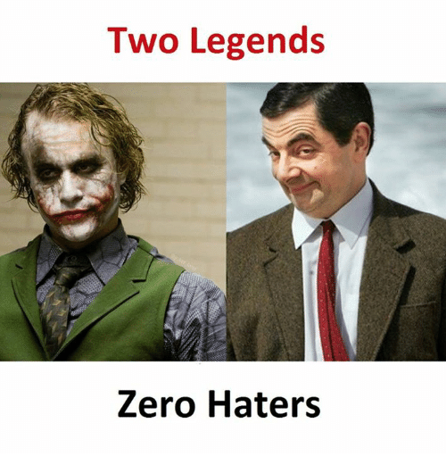 zeroes: Two Legends  Zero Haters