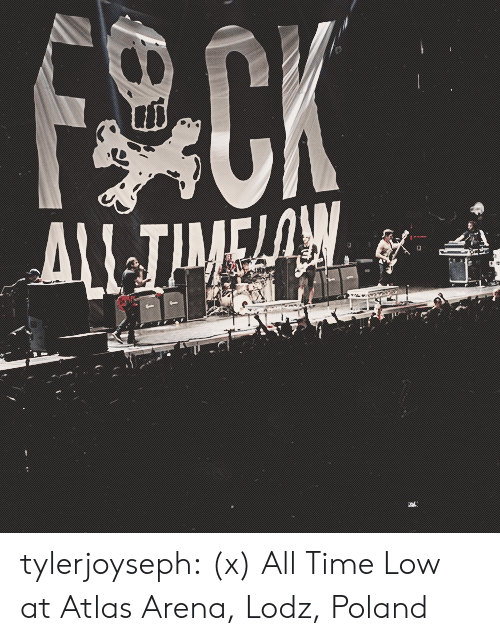 Tumblr, Blog, and Http: tylerjoyseph: (x) All Time Low at Atlas Arena, Lodz, Poland