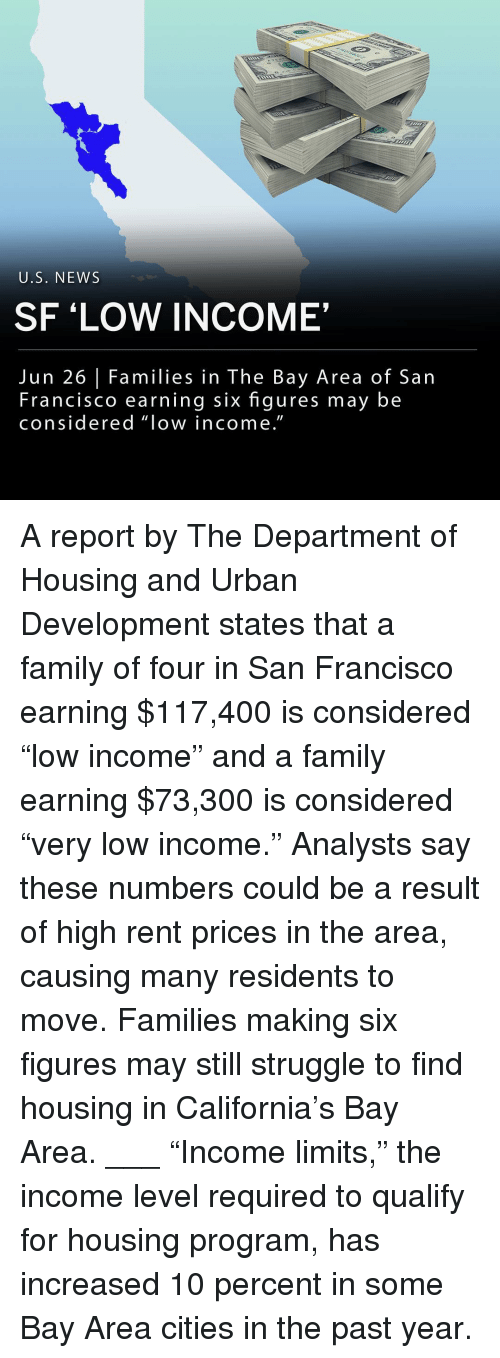 """Bay Area: U.S. NEW:S  SF 'LOW INCOME  Jun 26 
