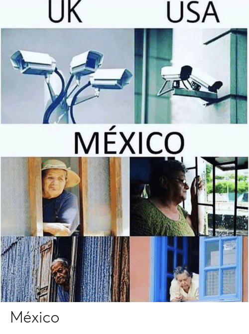 Mexico, Usa, and Usa Mexico: UK  USA  MÉXICO México