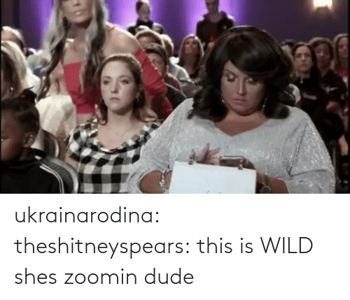 shes: ukrainarodina:  theshitneyspears: this is WILD shes zoomin dude