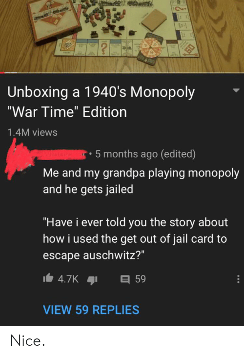 Unboxing a 1940's Monopoly War Time Edition 14M Views 5